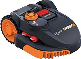 Worx wr091s Robot cortacésped Landroid, 36W, 20V, Negro, Naranja 300m²