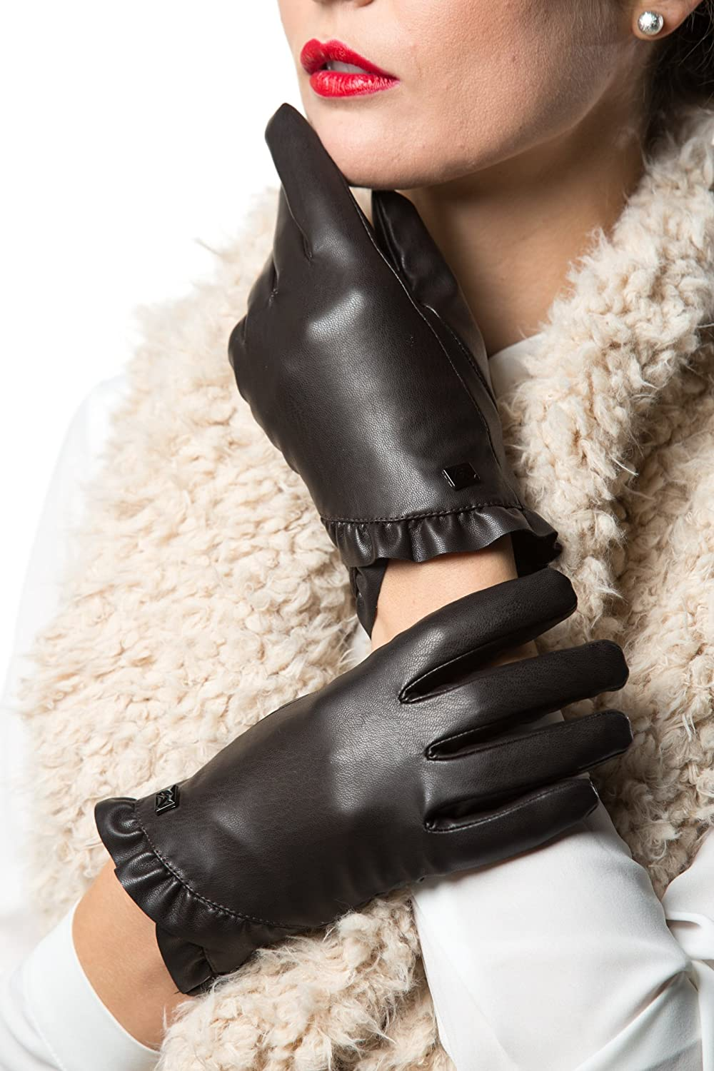 GALLERY SEVEN Max 40% OFF Women's Winter Gloves Free shipping on posting reviews Warm Tex Driving Touchscreen