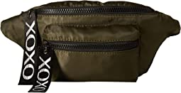 Nylon Belt Bag w/ Logo Webbing