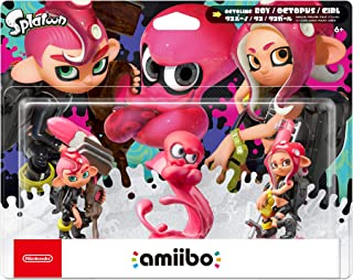 Nintendo Splatoon Series - Octoling Amiibo 3-pack - Switch
