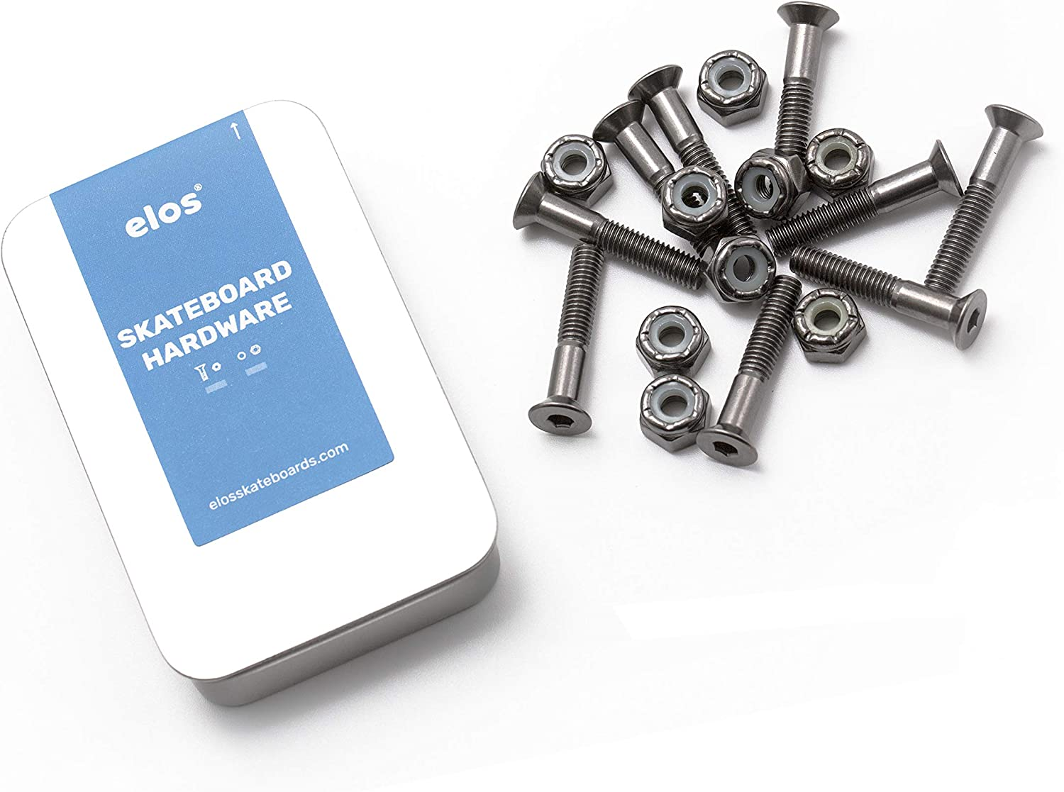 Indianapolis Mall ELOS Skateboards Mounting Hardware Set Max 86% OFF Hardened St Strength High
