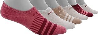 Women's Super No Show 6 Pair Climate Socks