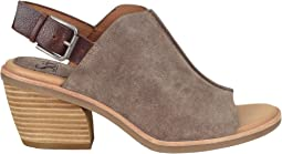 Taupe Oiled Cow Suede