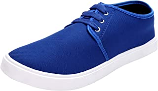 2ROW Men's Canvas Blue Sneakers