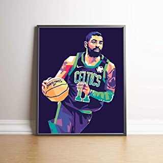 Kyrie Irving Limited Edition Celtics Poster Wall Art Wall Merchandise (8x10)