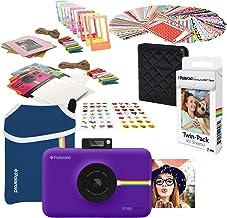 Polaroid Snap Touch Instant Digital Camera (Purple) Starter Bundle with Neoprene Case
