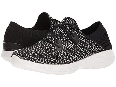 SKECHERS WhiteTaupe Reveal Black You Performance qF70Hg