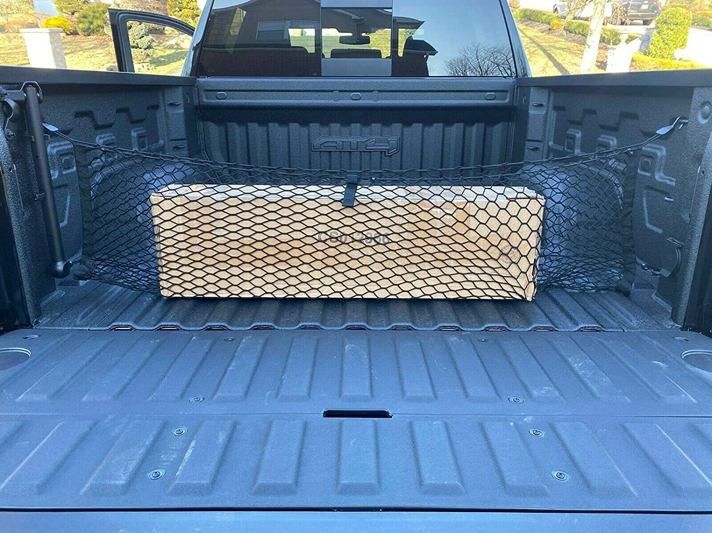 Envelope Style Trunk Max 72% OFF Mesh Cargo Net Chevy - Accessorie Very popular Silverado