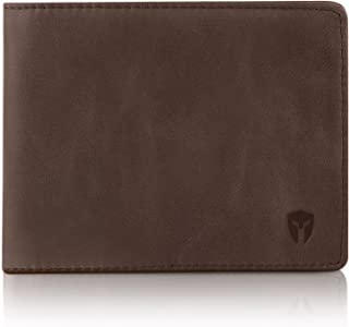 Bryker Hyde Executive Bifold parte superior Flip 2 ID Window RFID Blocking Finest Leather