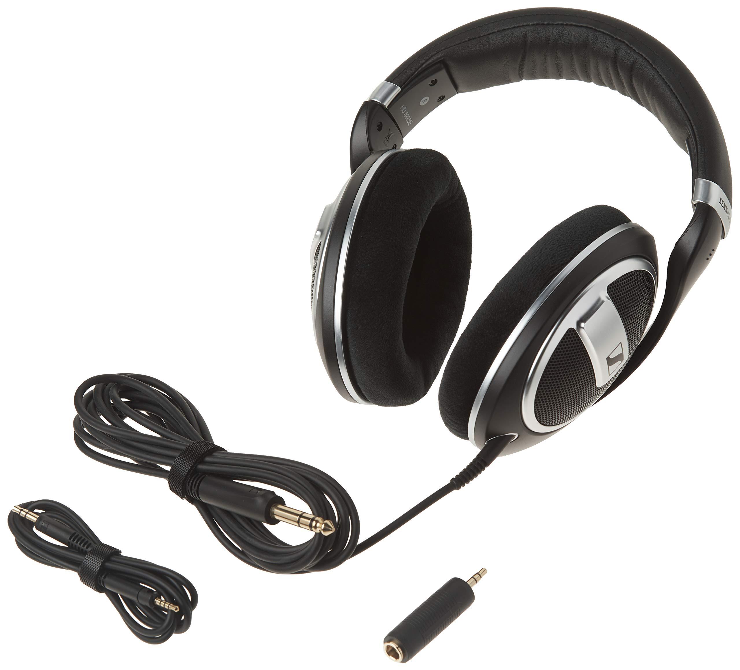Amazon.com: SENNHEISER HD 599 SE Alrededor de oído abierto auricular:  Electronics