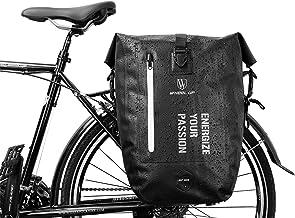 BAIGIO Alforjas para Portaequipajes de Bicicleta, Impermeable Bolsas Alforjas Traseras para Bicicletas MTB Bicicleta Carretera Bolsas Sillines Bolsa de Ciclismo para Asiento Trasero,25L