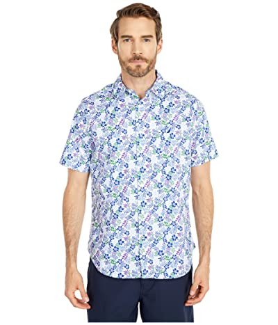 Nautica Casual Woven Shirt (White) Men