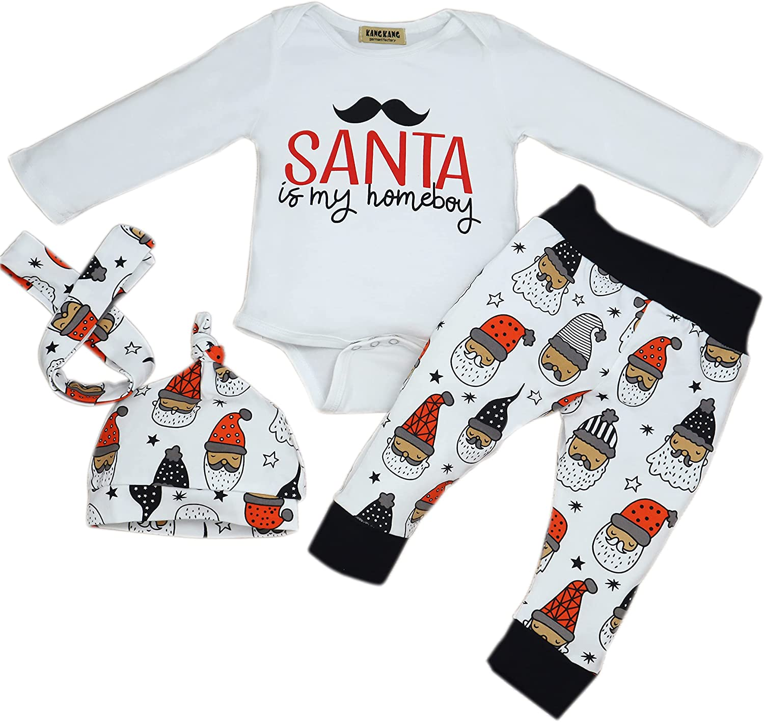 Newborn Baby Girl Clothes Outfits Infant Romper Tops+PantsBaby Girls & Boys Clothes Set