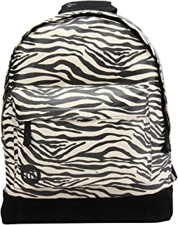 Premium Print Backpack Mochila Tipo Casual, 41 cm, 17 litros, Zebra Blk/Wht