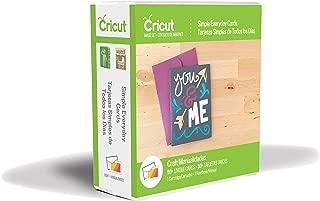 Cricut 2002466 Simple Everyday Cards Cartridge