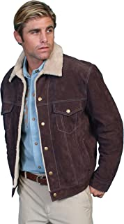 Scully Mens Suede Jean Jacket