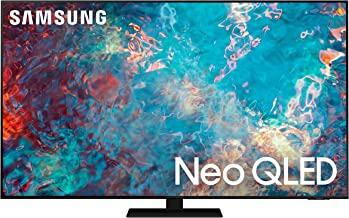 SAMSUNG 55-Inch Class Neo QLED QN85A Series - 4K UHD Quantum HDR 24x Smart TV with Alexa Built-in (QN55QN85AAFXZA, 2021 Mo...