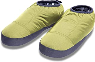 Cabiniste Men's Down Insulated Moccasin (Large, Guacamole/Magnet)