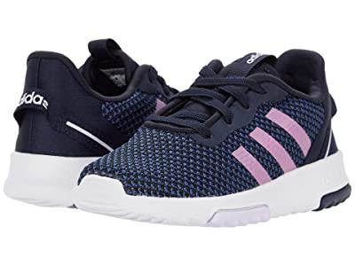 adidas Kids Racer TR 2.0 (Infant/Toddler) (Legend Ink/Cherry Metallic/Purple Tint) Girls Shoes