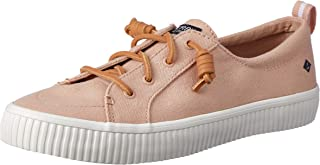 Sperry Top-Sider Women's Crest Vibe Creeper Linen Sneaker