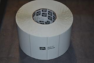 "(72289) Zebra 4x2 Z-Select 4000T Thermal Transfer Label [3"" Core, 8"" OD, 2740/Roll, 4 Rolls/Case]"