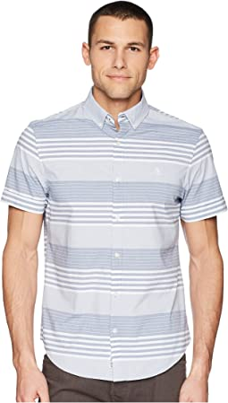 Original Penguin - Short Sleeve Stripe on Stretch