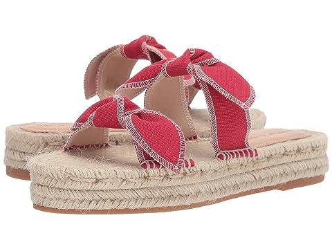Loeffler Randall Daisy Two Bow Espadrille Platform Sandal