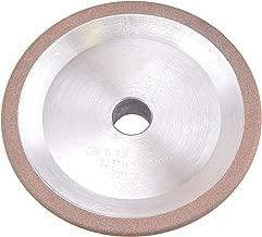 MaxTool OD 2.5 英寸 R0.078 英寸 CBN 定制扫帚轮孔 10 毫米粗砂 150 混合捆绑;CBRD2.5R78G15