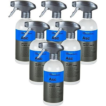 Koch Chemie 3x Asc Allround Surface Cleaner Spezial Oberflächenreiniger 500 Ml Auto