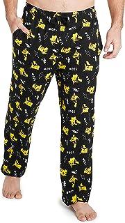 Pokémon Pyjamas for Men, Pikachu Mens Lounge Pants, Mens Pyjamas Bottoms