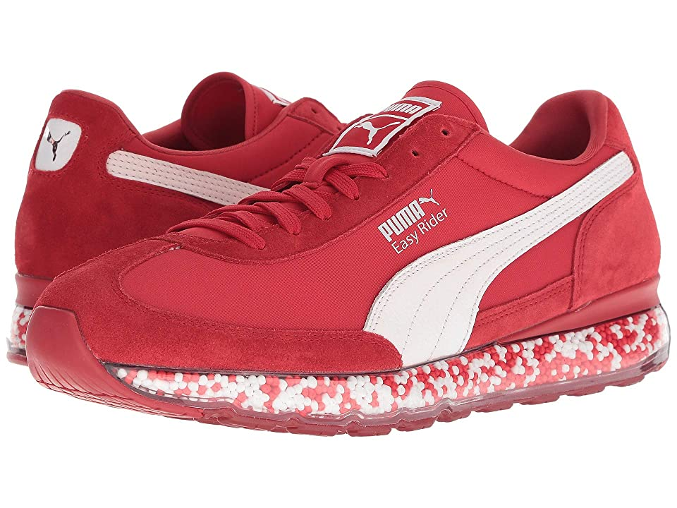 PUMA Jamming Easy Rider (Ribbon Red/Puma White) Men's Shoes