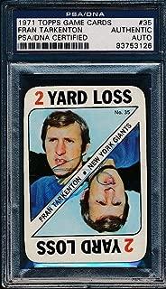 Best fran tarkenton football card value Reviews