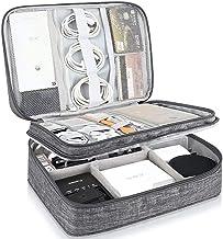 Sac organiseur de câbles de voyage, sac de rangement pour accessoires électroniques, sac de transport universel pour câble...