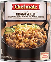 Chef-mate Chorizo Breakfast Sausage Skillet, Canned Meat, Great for Camping Meals, 6 lb..