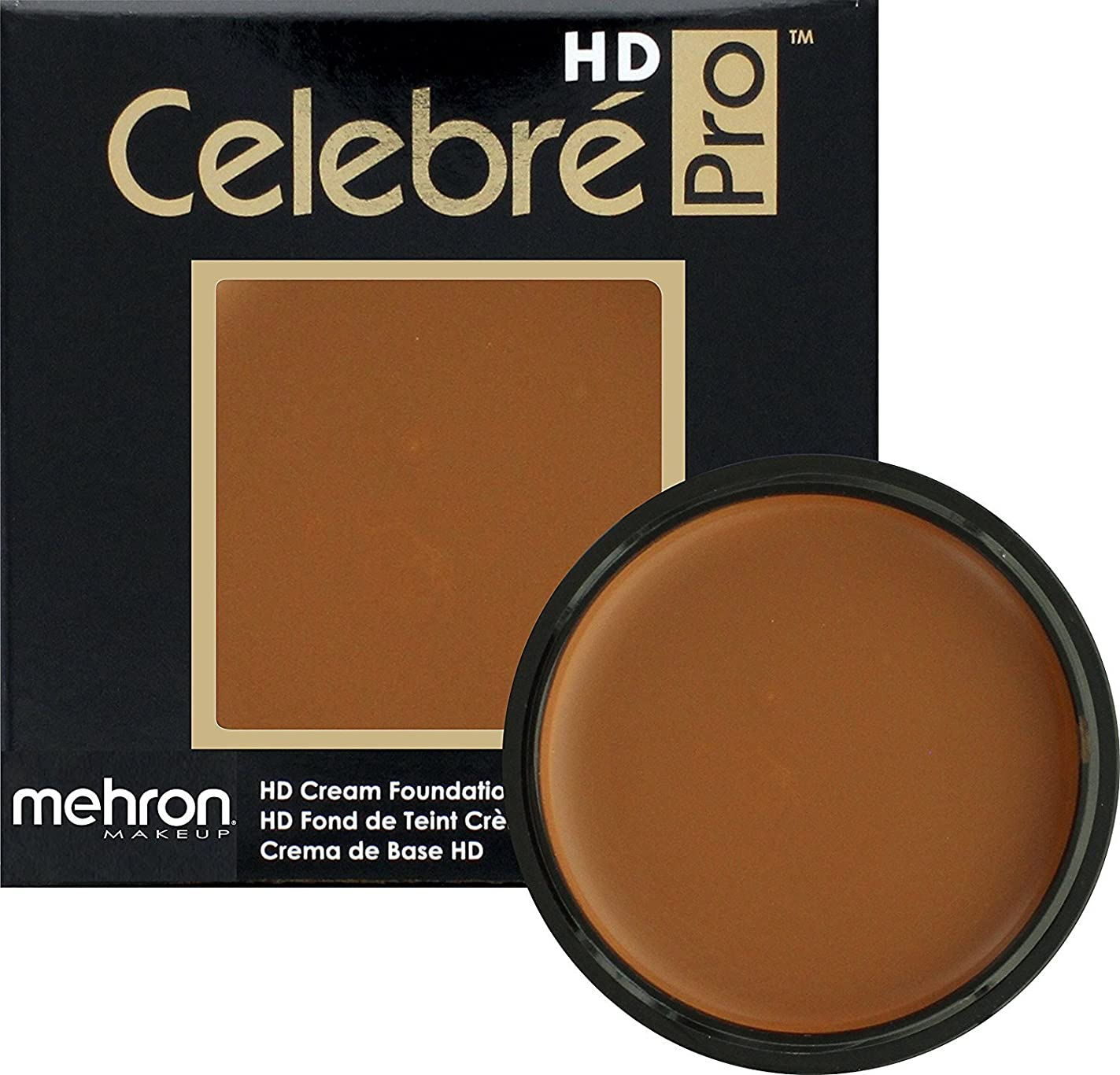 パントリー誇り別々にmehron Celebre Pro HD Make Up Medium/Dark 4 (並行輸入品)