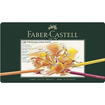 Faber-Castell Polychromos Matite colorate, custodia con 120 matite