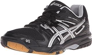 ASICS Women s Gel Rocket 7 Volley Ball Shoe Onyx/Silver 7.5 B(M) US