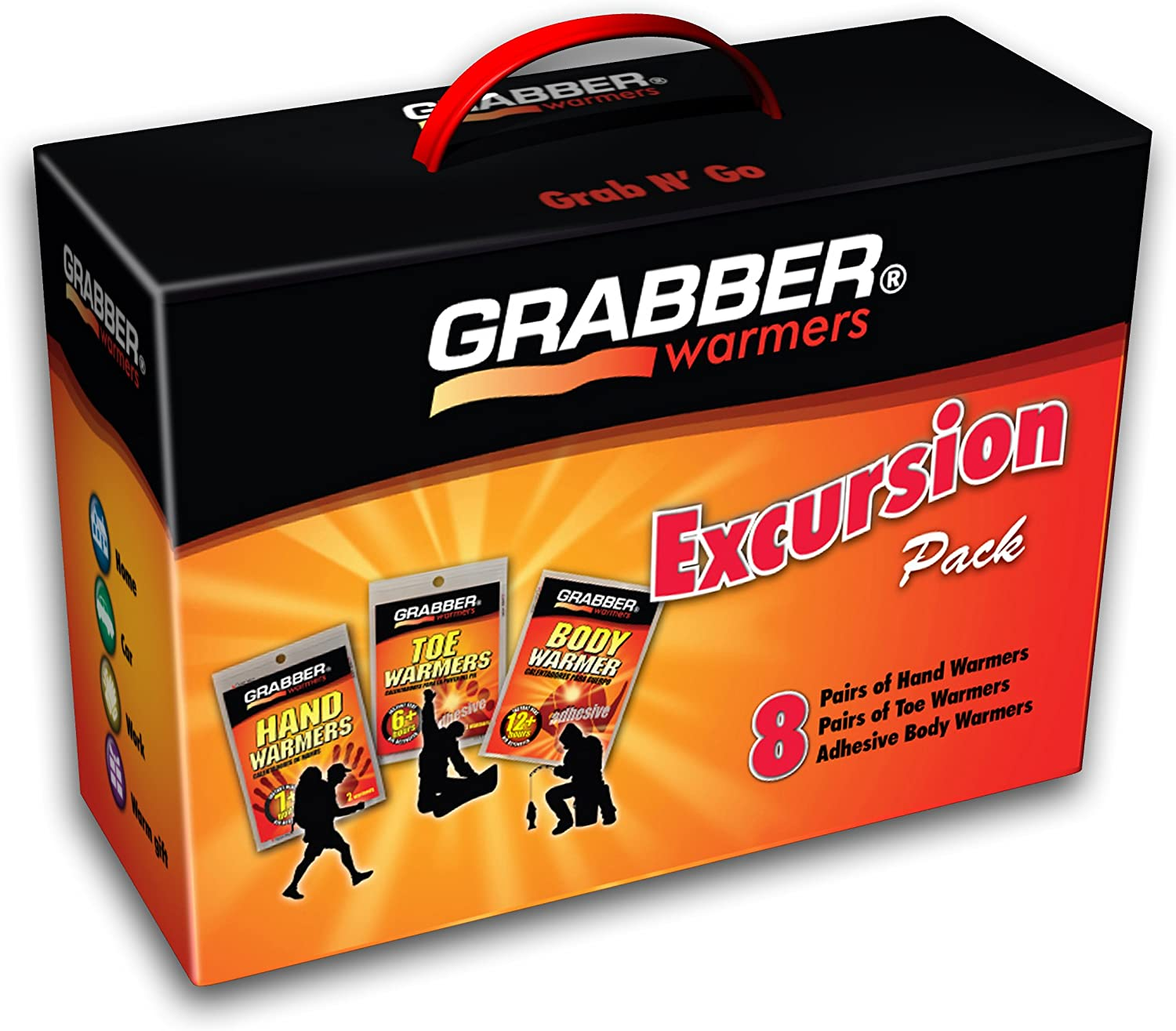 Grabber Warmers Inexpensive Excursion Multi-Pack 8 Ultra-Cheap Deals Box Pair Warmer