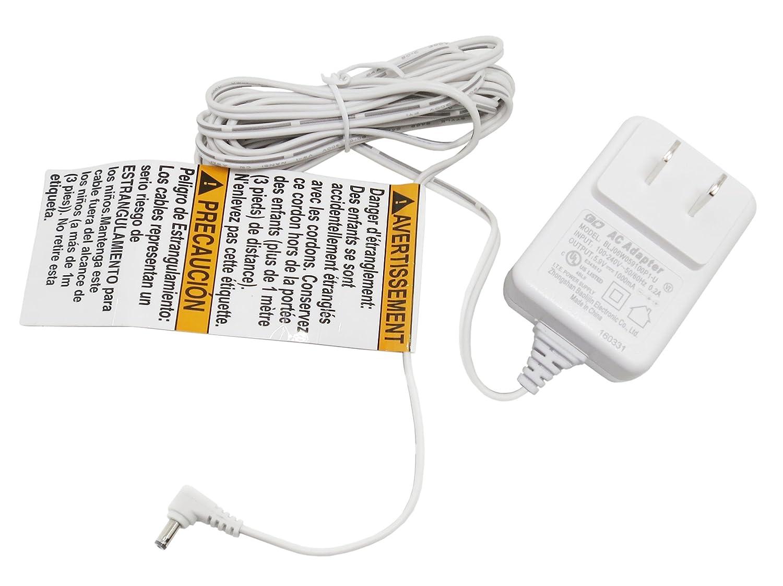 Infant Optics DXR-8 Power Adapter for Camera Unit 2nd Generation (110v240v Compatible)