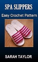 crochet spa slippers