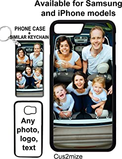 Personalized Phone case Custom Phone case Personalized iPhone case Personalized Samsung case Make Your own Phone case with Your own Photo or Logo on it (Samsung Galaxy s9 Plus)