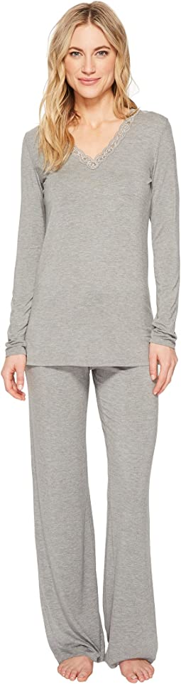 Natori Feathers Long Sleeve PJ
