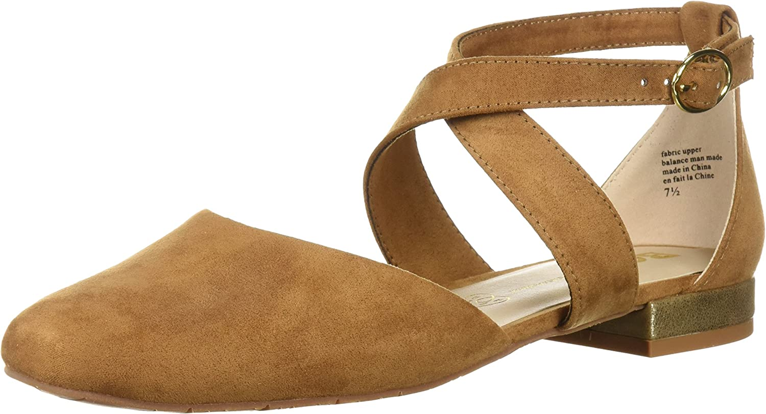 BC Footwear Womens Concession Stand Ballet Flat