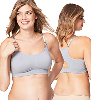 Cotton Candy Seamless Nursing Bra for Breastfeeding, Wireless Unlined Nursing Sleep Bra