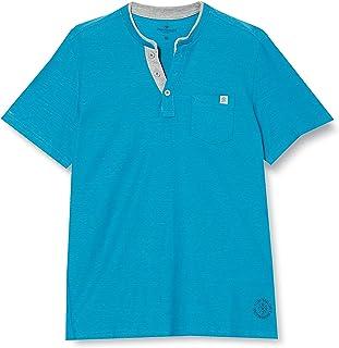 Tom Tailor Men's Streifenhenley T-Shirt
