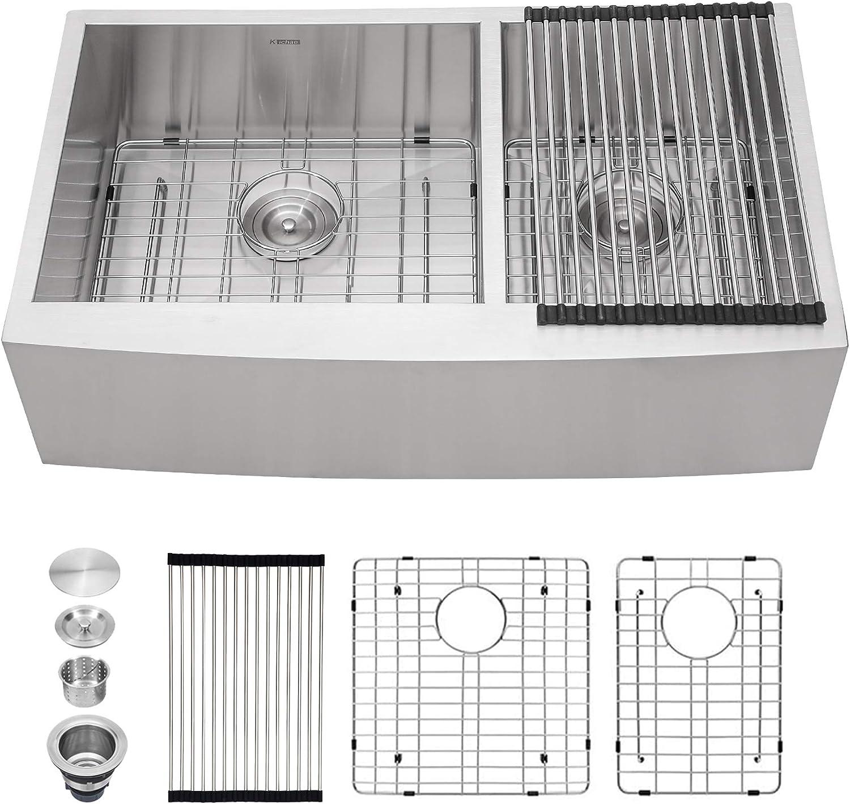36 Gorgeous Double Farmhouse Sink - supreme Bo Kichae Inch Kitchen