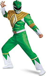 Men's Green Ranger Classic Muscle Adult Costume