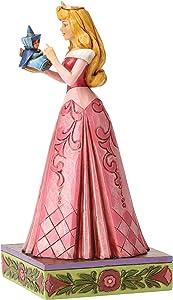 Jim Shore Disney Wonder and Wisdom Princess Aurora with Fairy Figurine 4054275