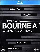 Kolekcja Bourne'a: ToĹzsamoĹ Ä  Bourne'a/ Krucjata Bourne'a/ Ultimatum Borne'a/ Dziedzictwo Bourne'a [BOX] [4xBlu-Ray] (No English version)