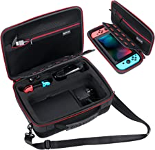 Smatree Hard Carrying Case Compatible for Nintendo Switch-Fit for Extra Switch Pro Controller